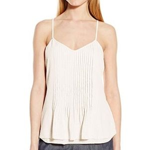 Sanctuary Fling Ribbed Cream Tank Top Size Medium